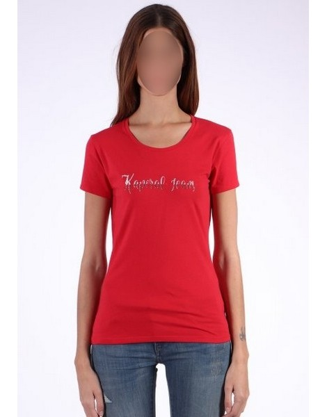 KAPORAL TEE SHIRT FEMME BUSY cherry