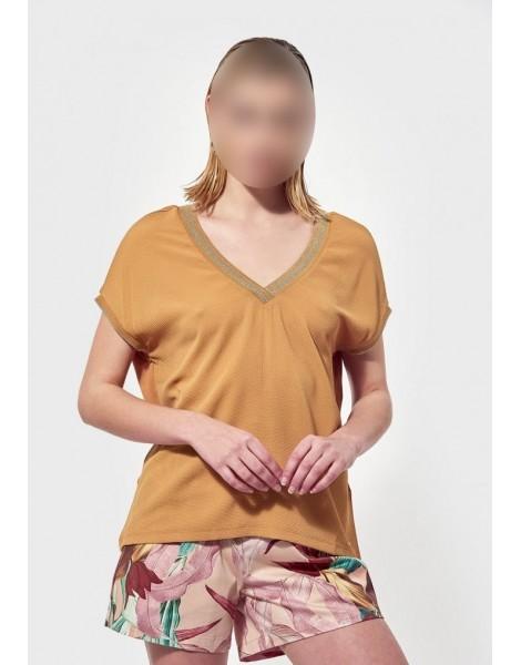 KAPORAL BLOUSE FEMME POLIN ambre