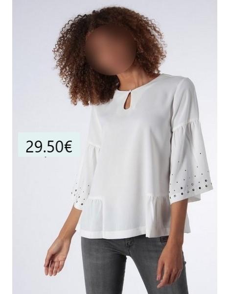 KAPORAL FEMME BLOUSE CARA blanc